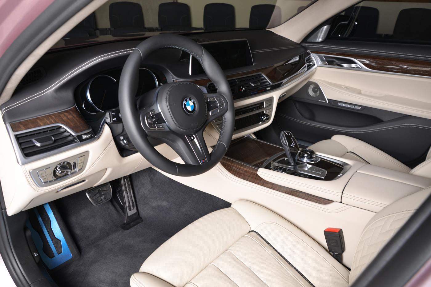 BMW750Li xDrive Individual M Sport Package in Rose Quartz (9)