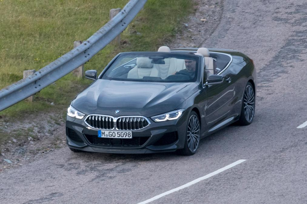 BMW 8-Series Cabrio 2019 spy photos (2)