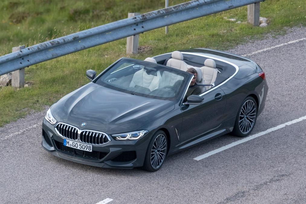 BMW 8-Series Cabrio 2019 spy photos (3)