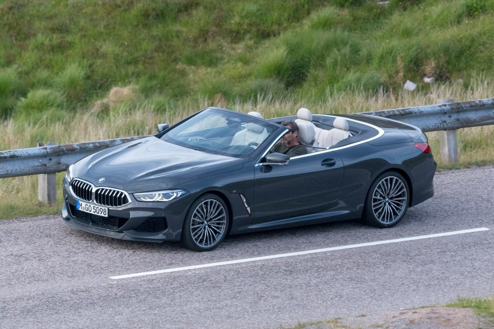 BMW 8-Series Cabrio 2019 spy photos (4)
