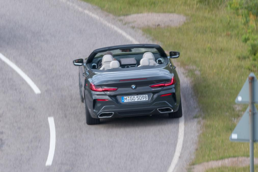 BMW 8-Series Cabrio 2019 spy photos (6)