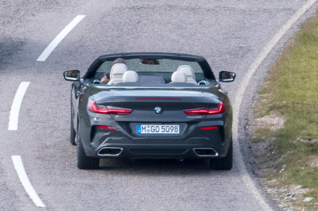BMW 8-Series Cabrio 2019 spy photos (7)