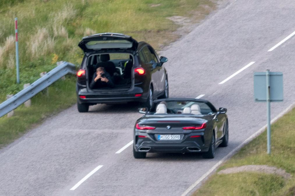 BMW 8-Series Cabrio 2019 spy photos (8)