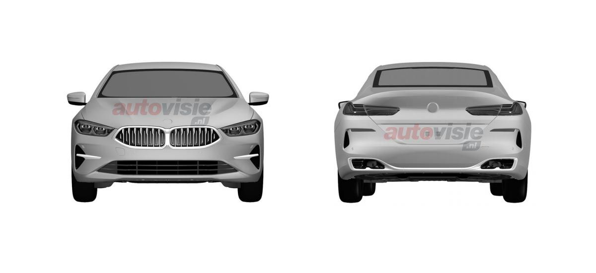BMW 8-Series Convertible and Gran Coupe patents (9)