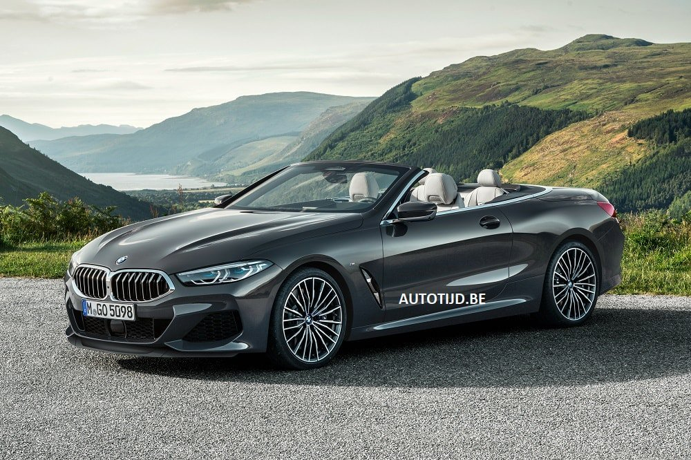BMW 8-Series Convertible leaked photos (1)