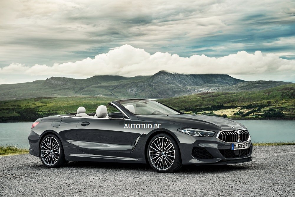 BMW 8-Series Convertible leaked photos (10)