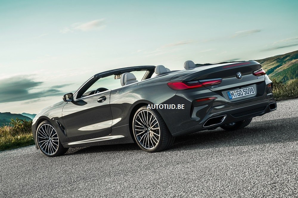BMW 8-Series Convertible leaked photos (11)