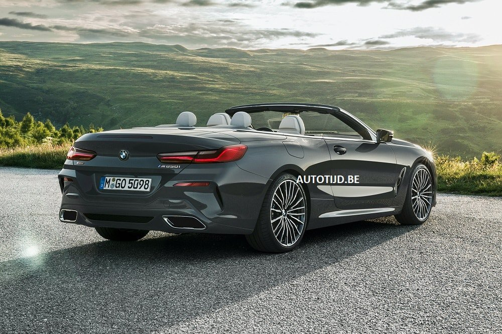 BMW 8-Series Convertible leaked photos (12)