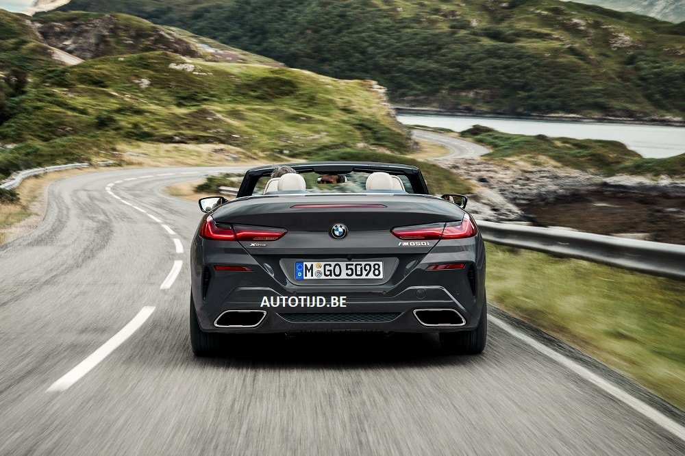 BMW 8-Series Convertible leaked photos (13)