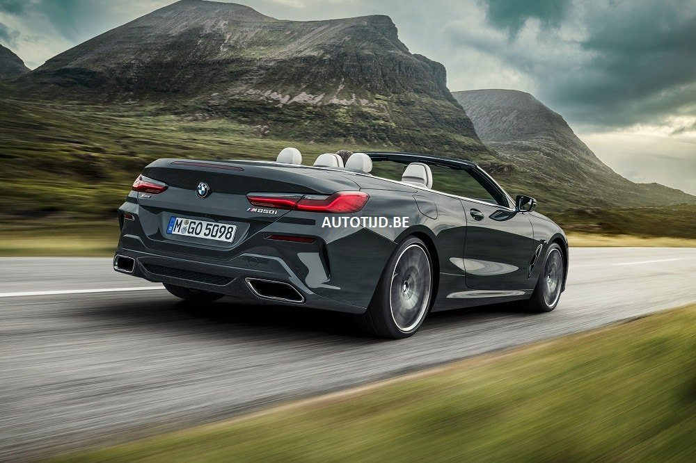 BMW 8-Series Convertible leaked photos (16)