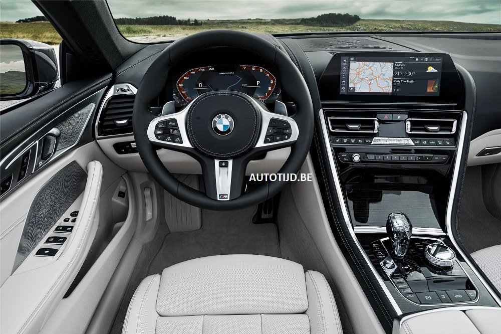 BMW 8-Series Convertible leaked photos (22)
