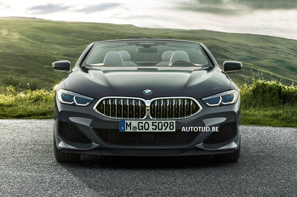 BMW 8-Series Convertible leaked photos (3)