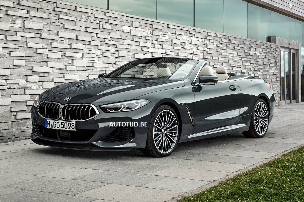 BMW 8-Series Convertible leaked photos (4)