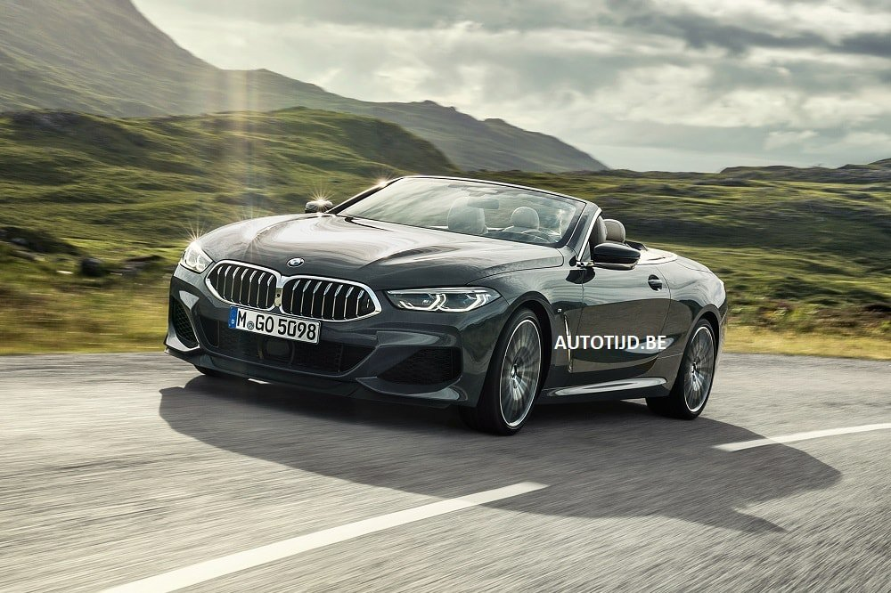BMW 8-Series Convertible leaked photos (6)
