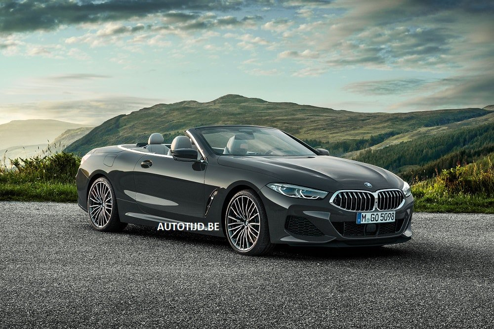 BMW 8-Series Convertible leaked photos (7)