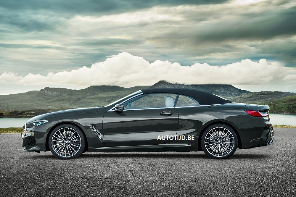 BMW 8-Series Convertible leaked photos (8)