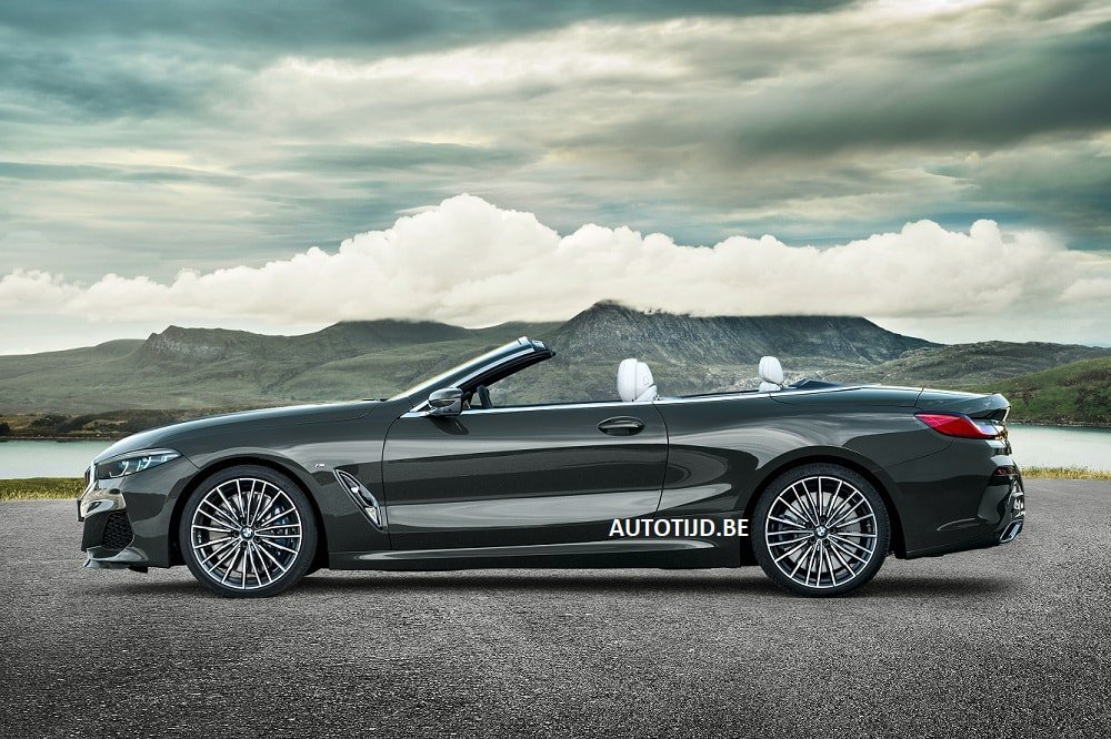 BMW 8-Series Convertible leaked photos (9)