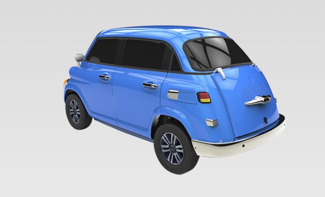 BMW Isetta chinese clone (11)