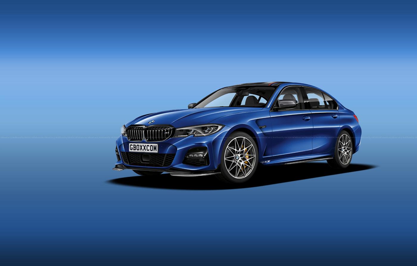 BMW M3, 3 Series Shooting Brake, Cabriolet and Pickup Renderings (1)