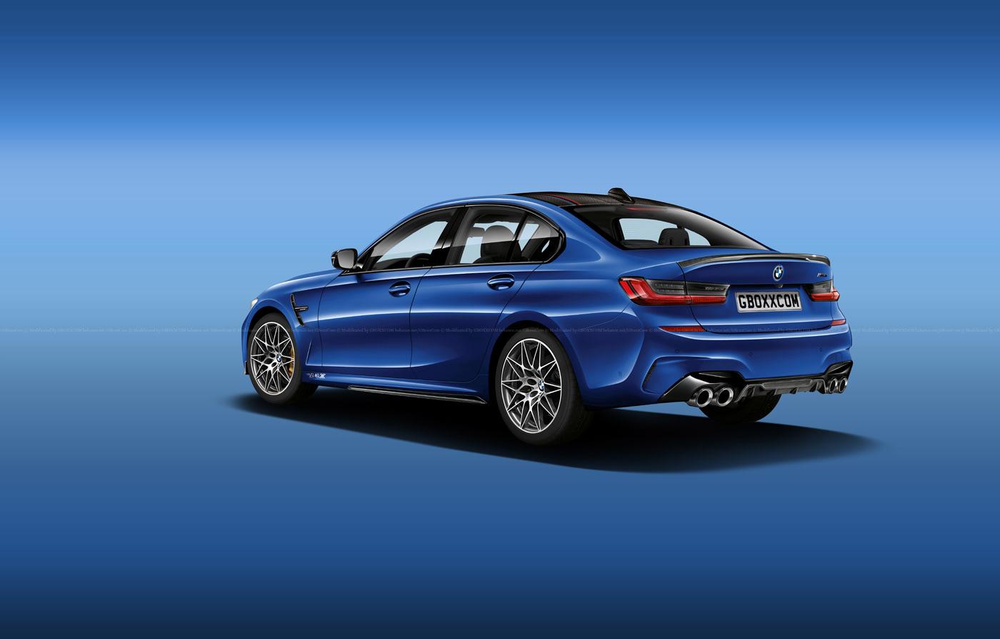 BMW M3, 3 Series Shooting Brake, Cabriolet and Pickup Renderings (2)