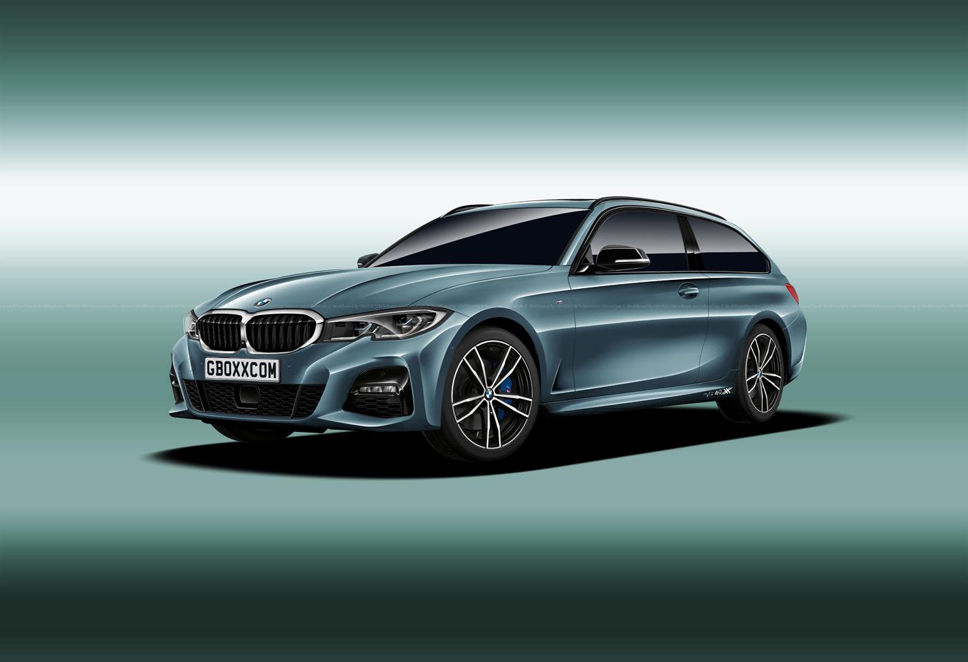 BMW M3, 3 Series Shooting Brake, Cabriolet and Pickup Renderings (4)