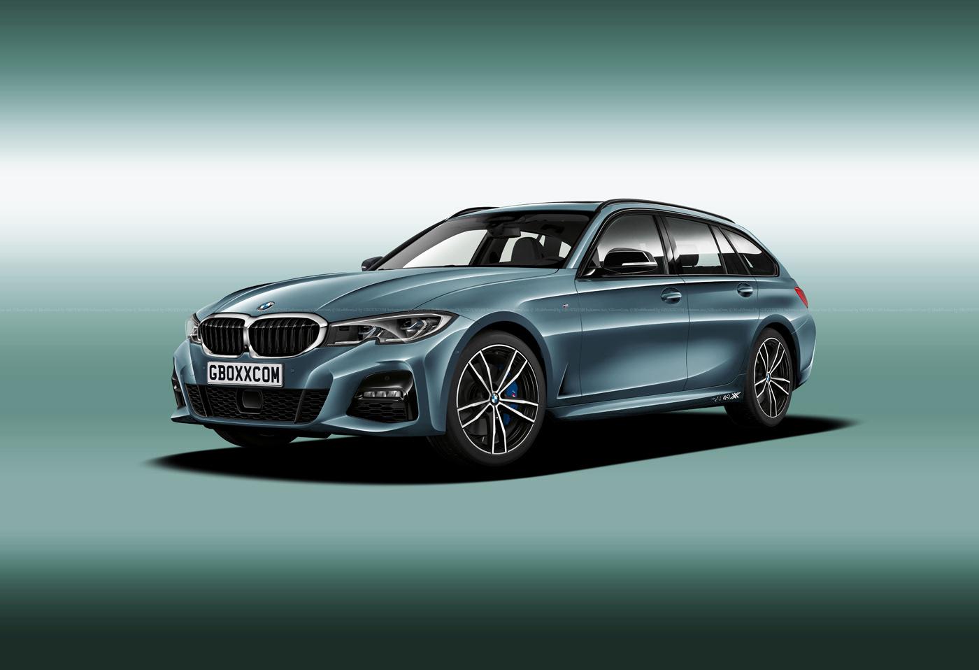 BMW M3, 3 Series Shooting Brake, Cabriolet and Pickup Renderings (5)