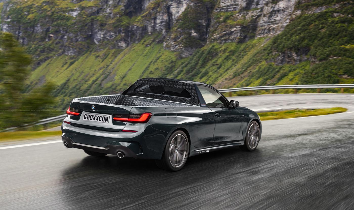 BMW M3, 3 Series Shooting Brake, Cabriolet and Pickup Renderings (6)