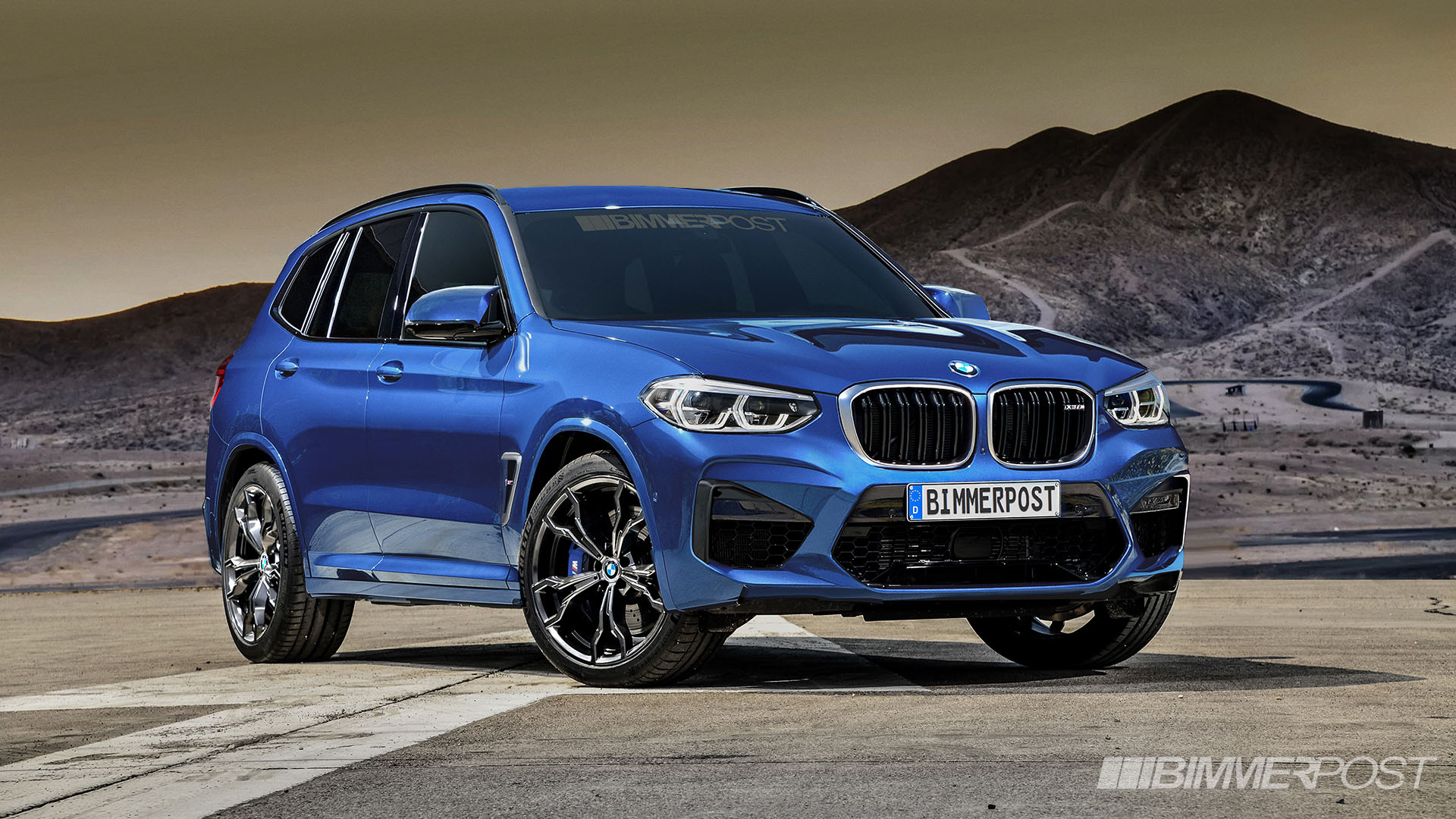 BMW X3 M and X4 M Renderings (1)