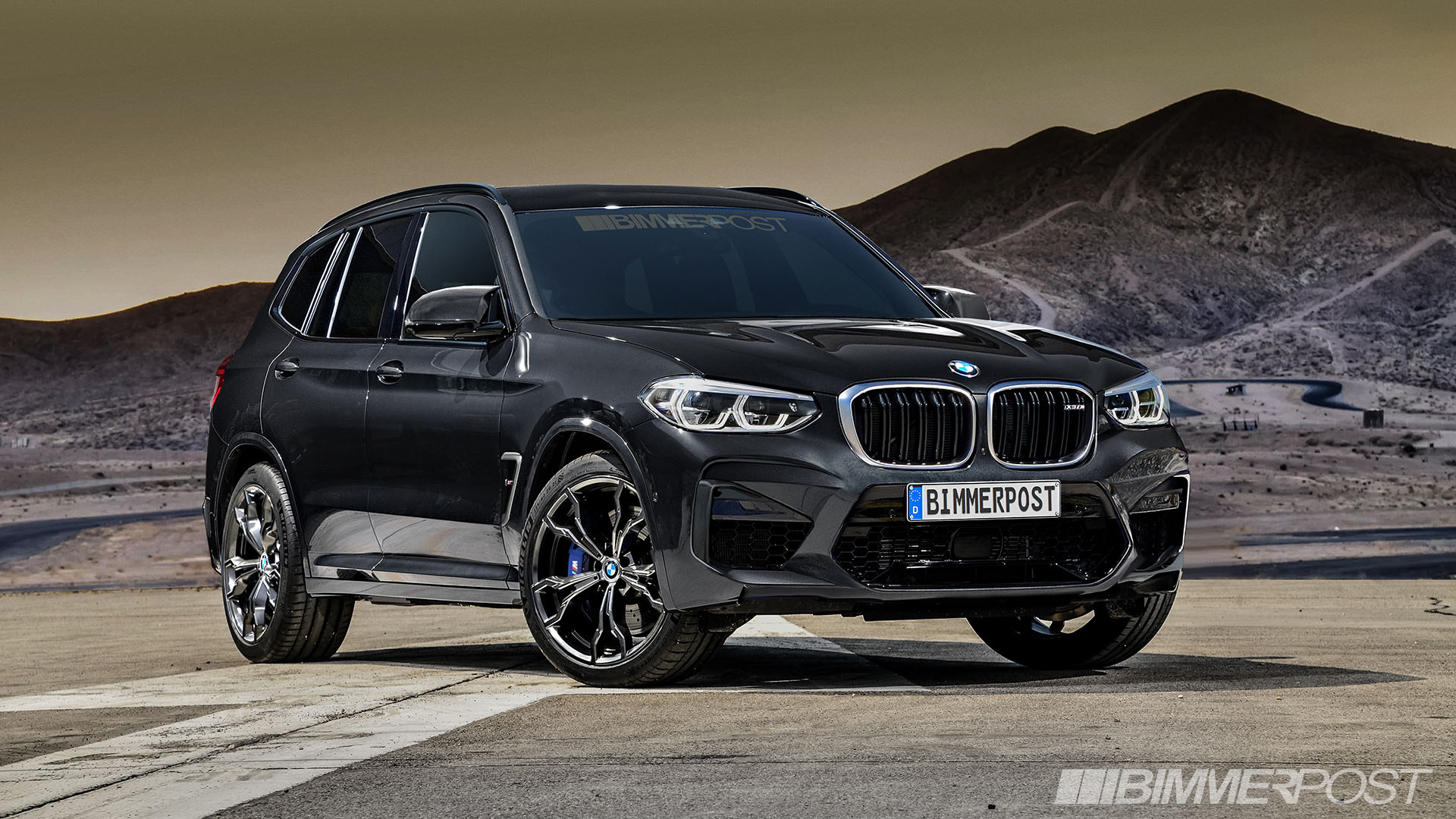 BMW X3 M and X4 M Renderings (10)