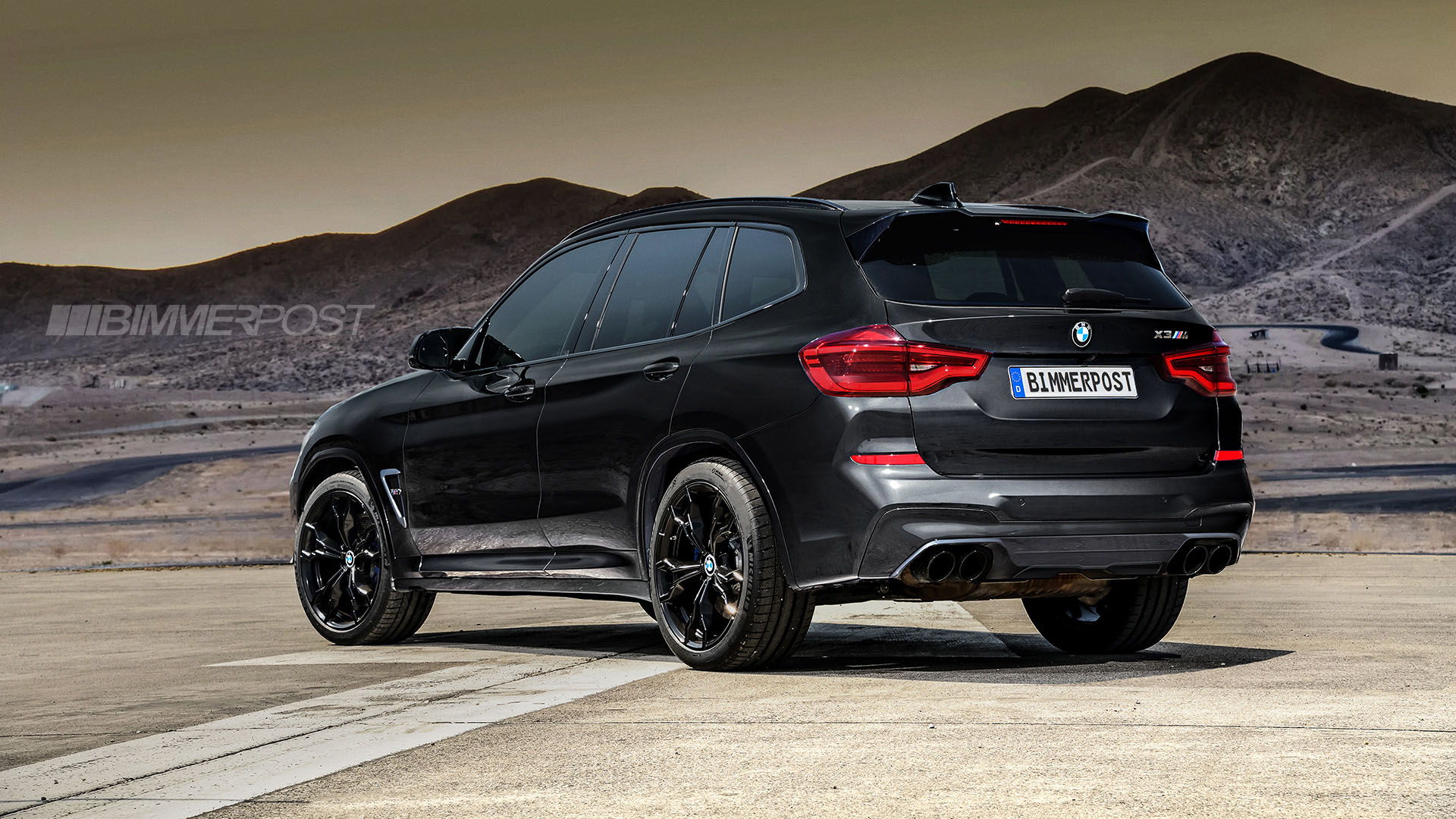 BMW X3 M and X4 M Renderings (11)