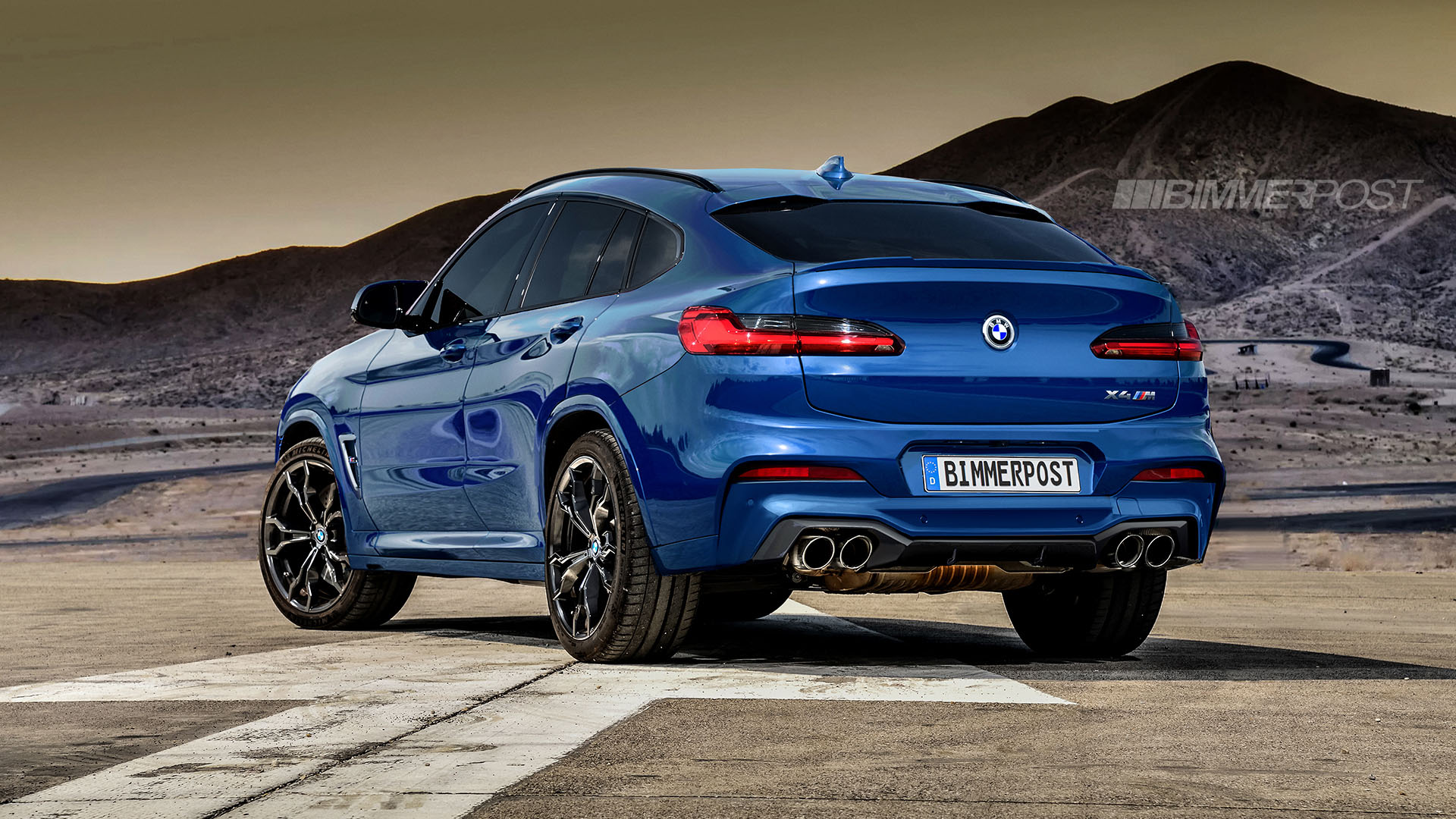 BMW X3 M and X4 M Renderings (12)