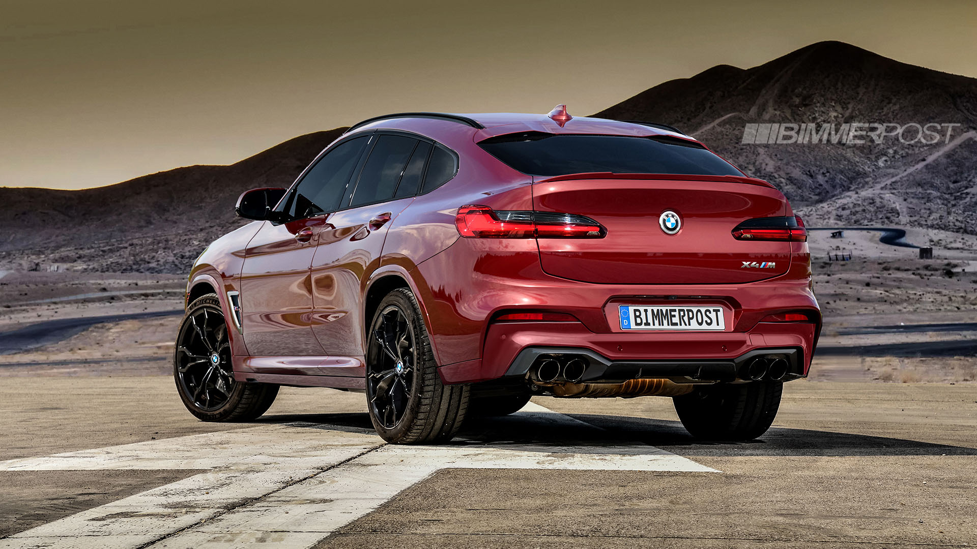 BMW X3 M and X4 M Renderings (13)