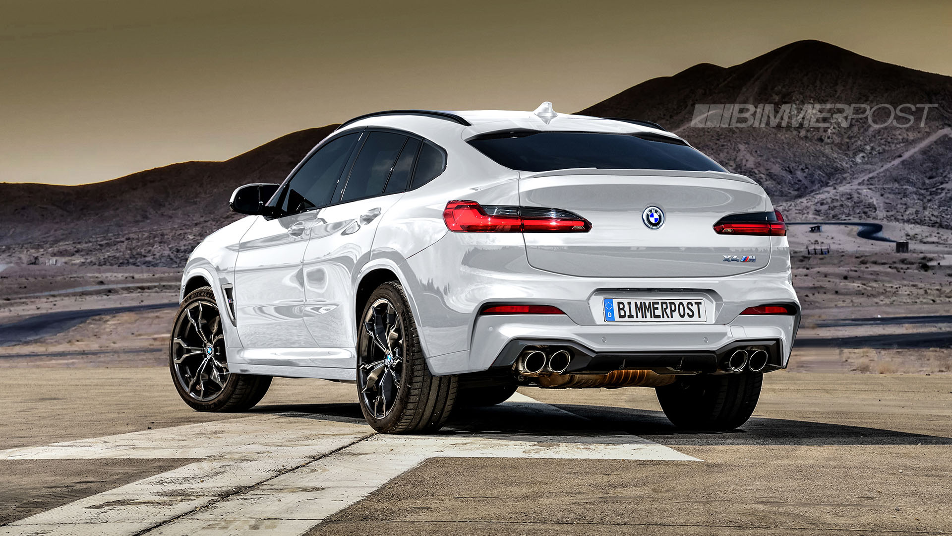 BMW X3 M and X4 M Renderings (14)