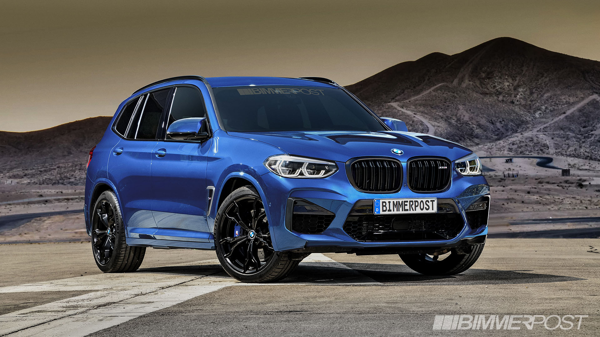 BMW X3 M and X4 M Renderings (3)