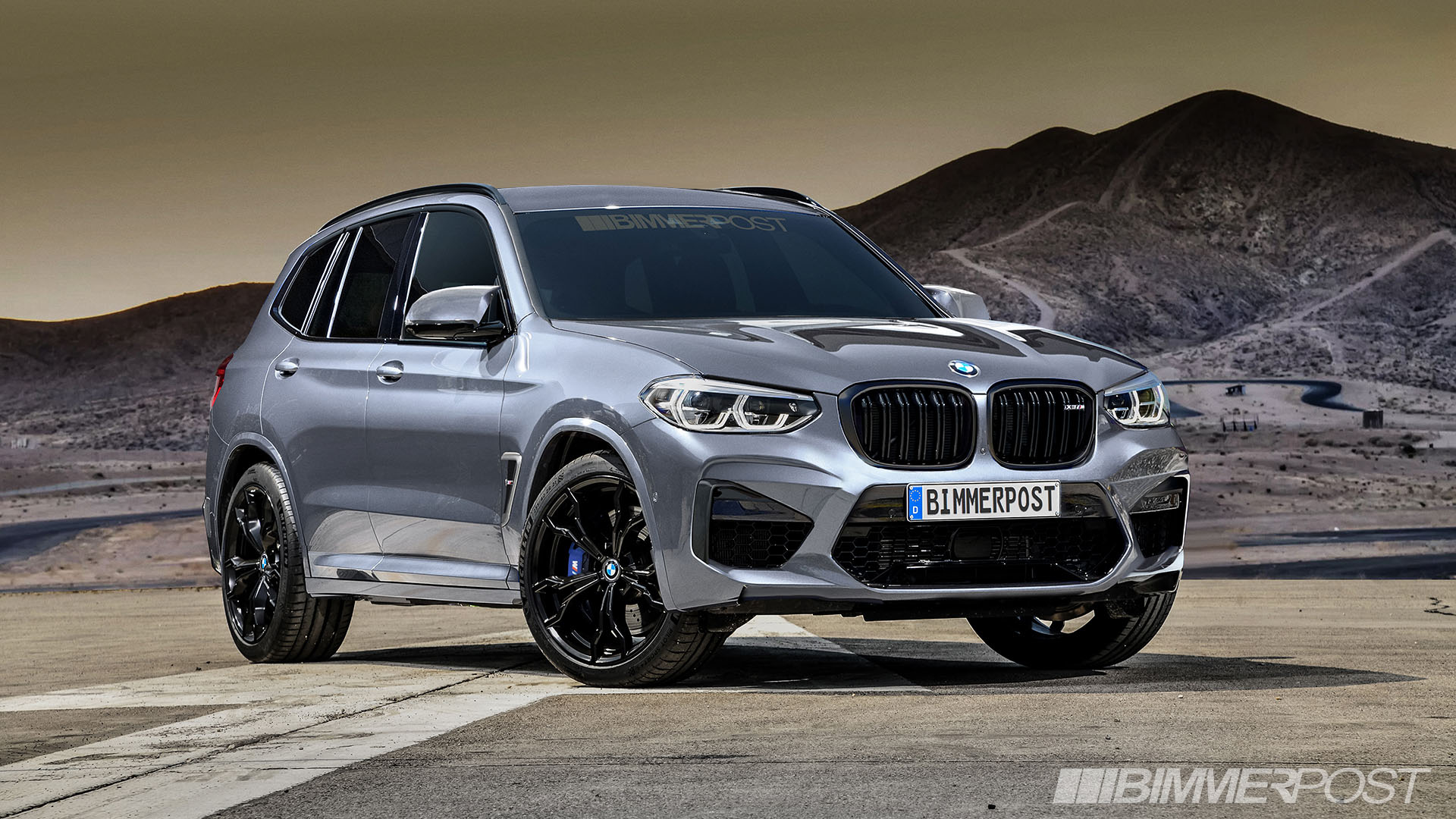 BMW X3 M and X4 M Renderings (6)