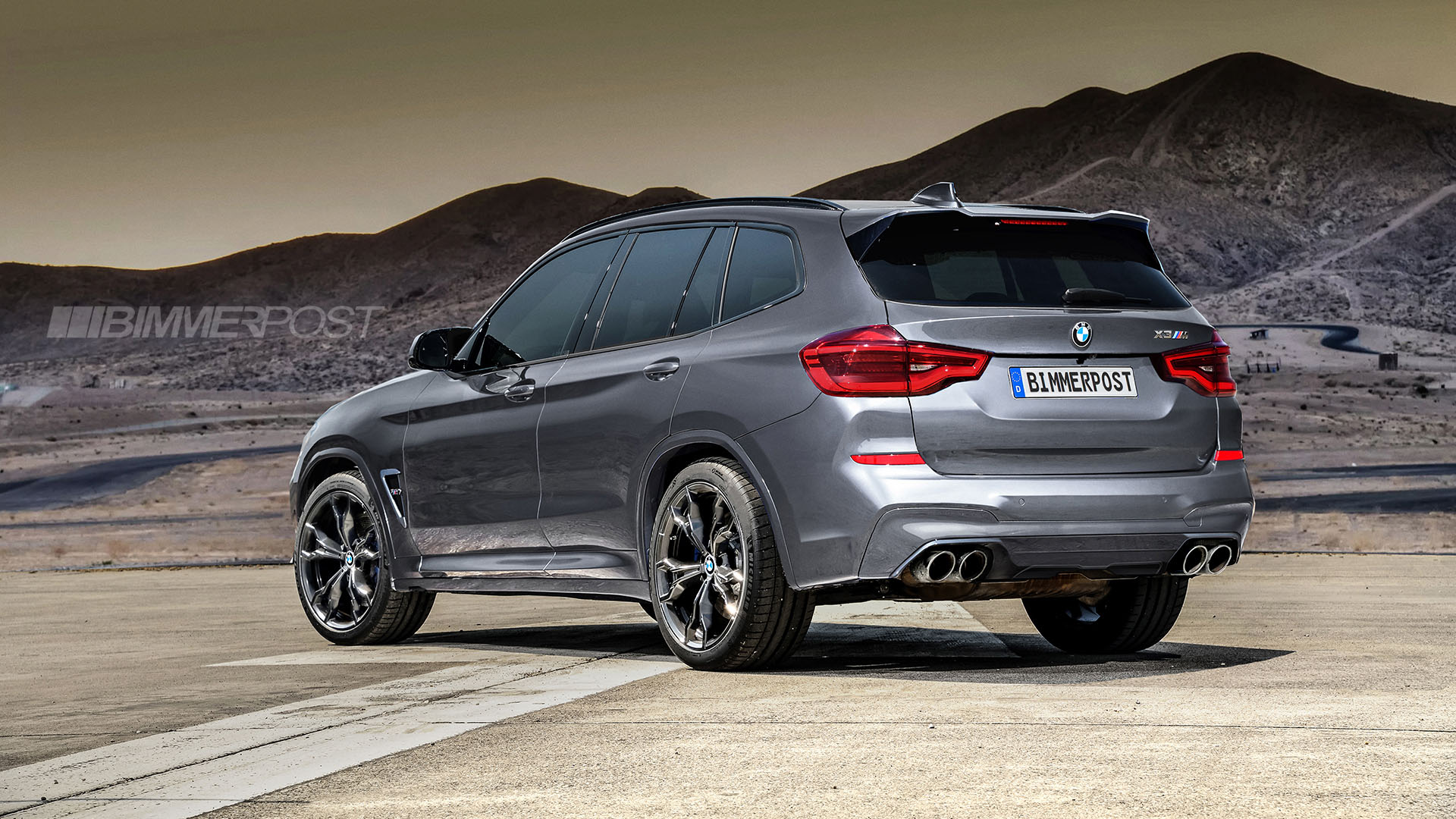 BMW X3 M and X4 M Renderings (8)