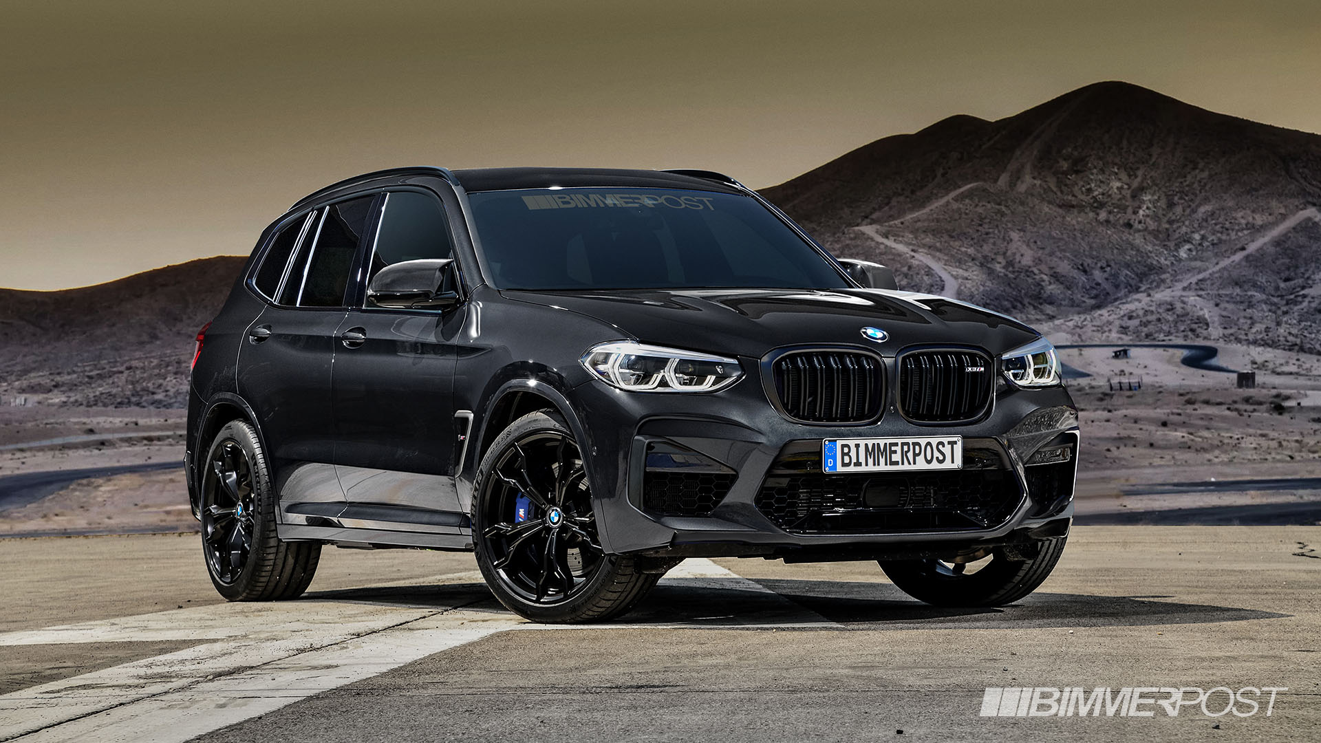 BMW X3 M and X4 M Renderings (9)