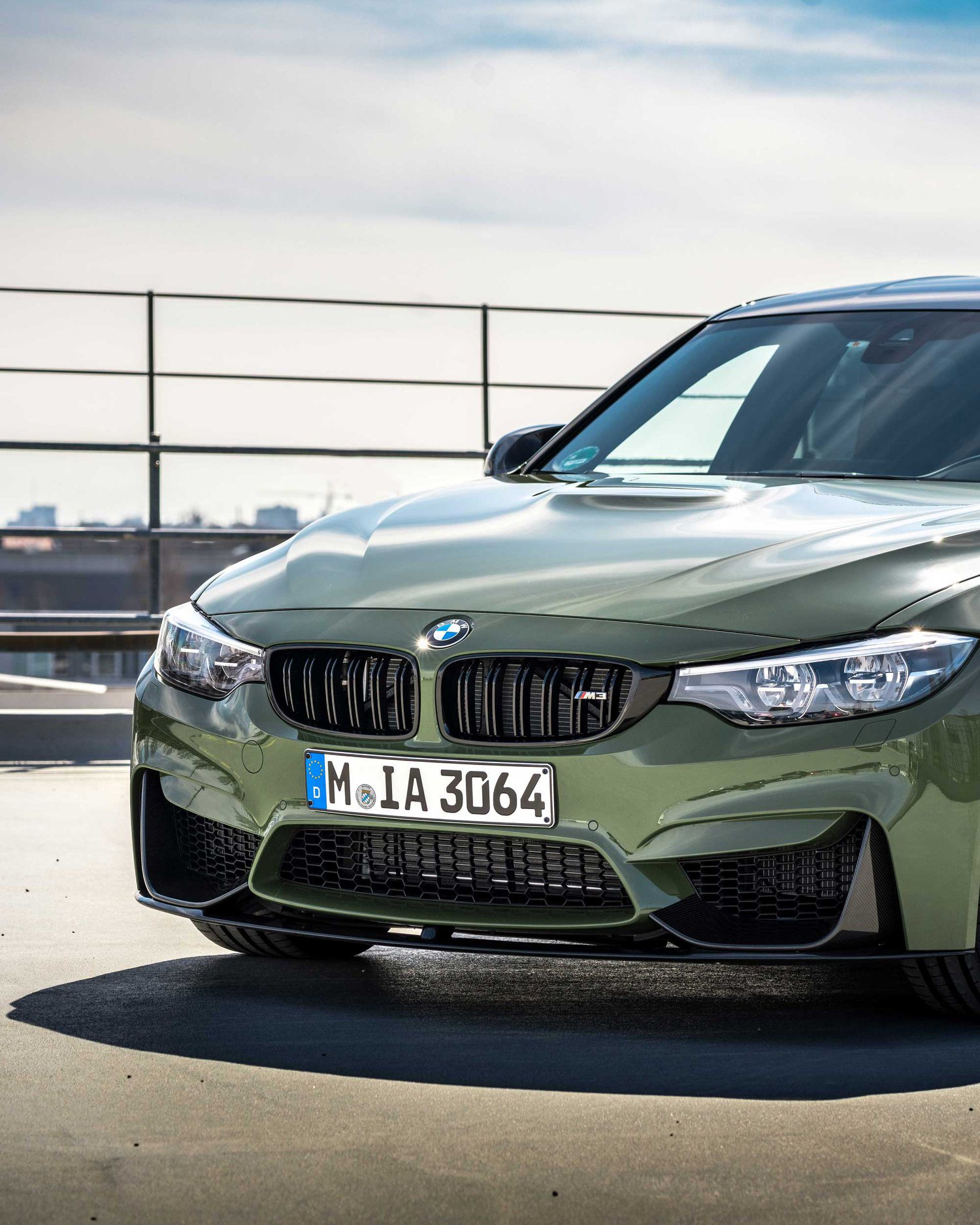 BMW M3 Urban Green From BMW Individual (1)