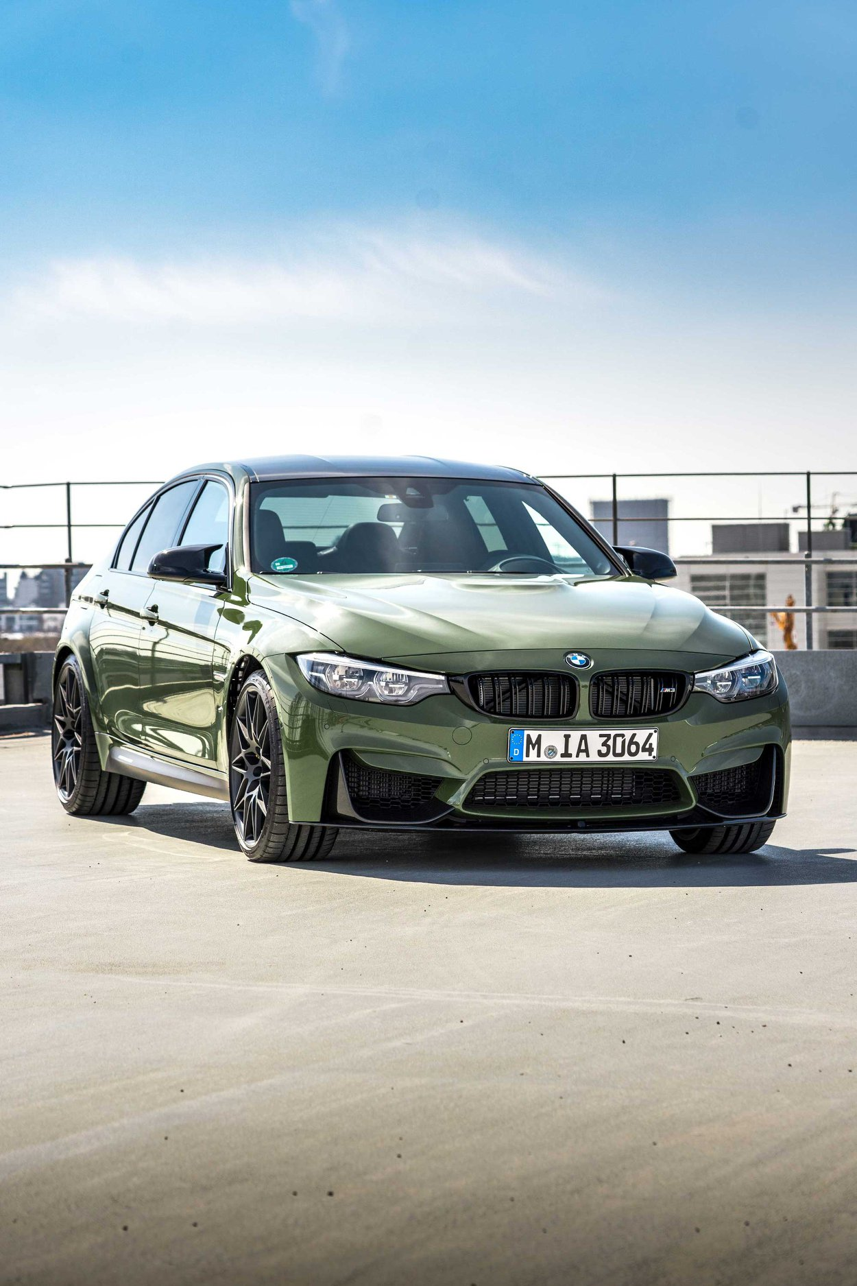 BMW M3 Urban Green From BMW Individual (2)