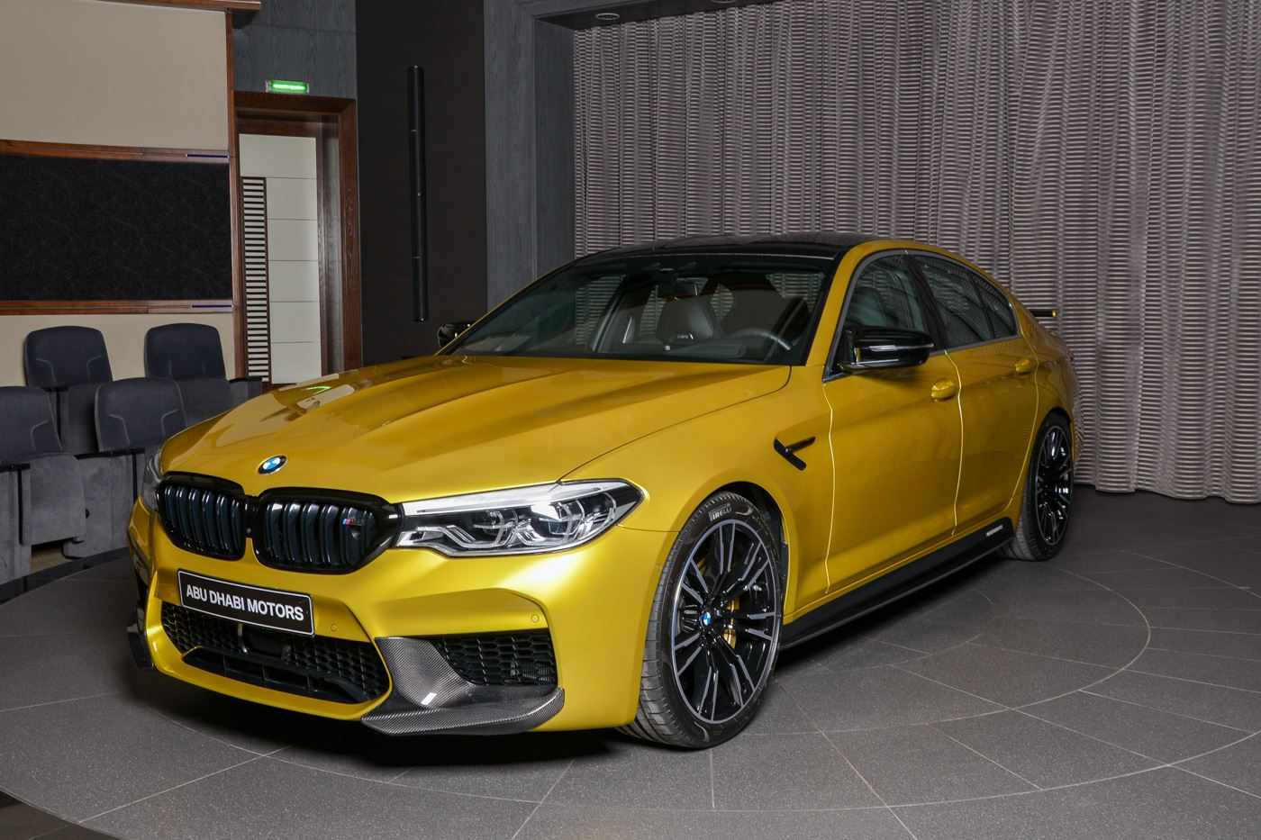 BMW M5 Competition Austin Yellow (1)