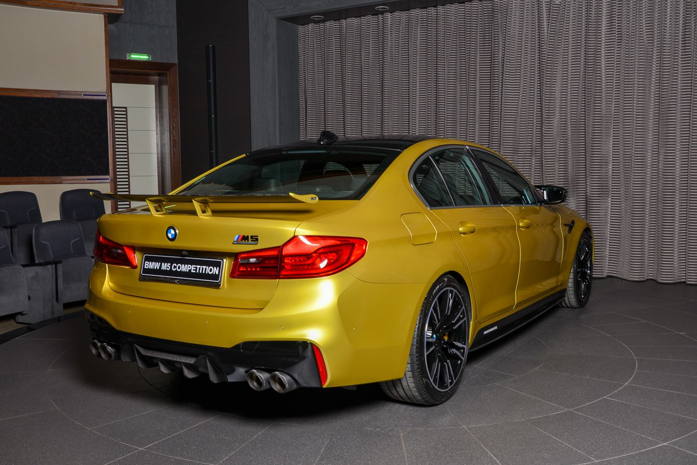 BMW M5 Competition Austin Yellow (10)