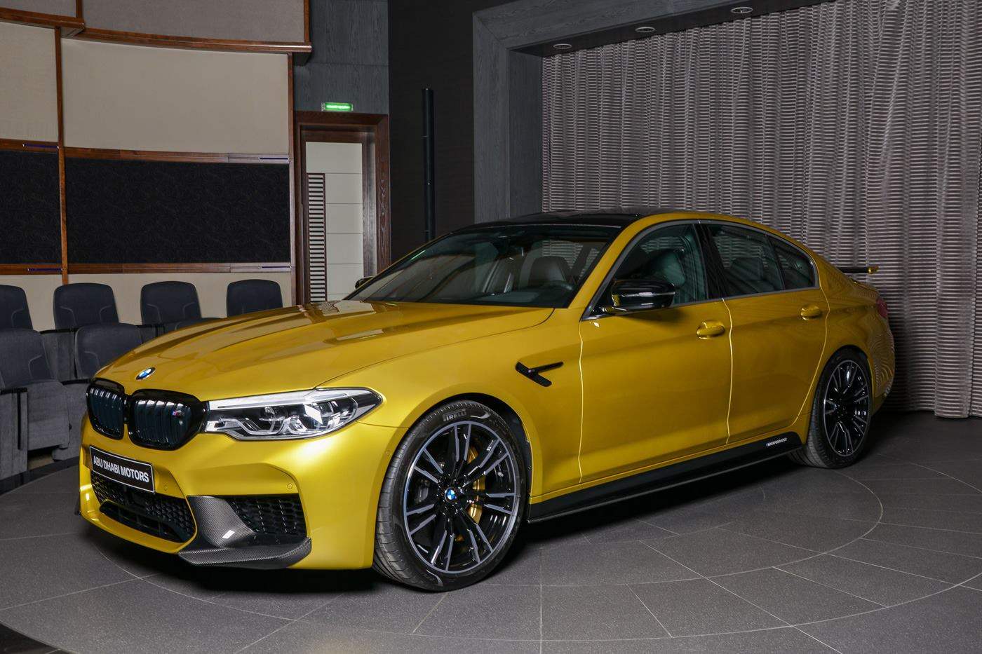 BMW M5 Competition Austin Yellow (16)