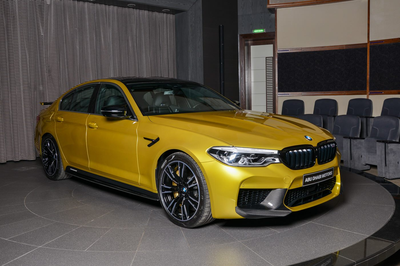 BMW M5 Competition Austin Yellow (2)