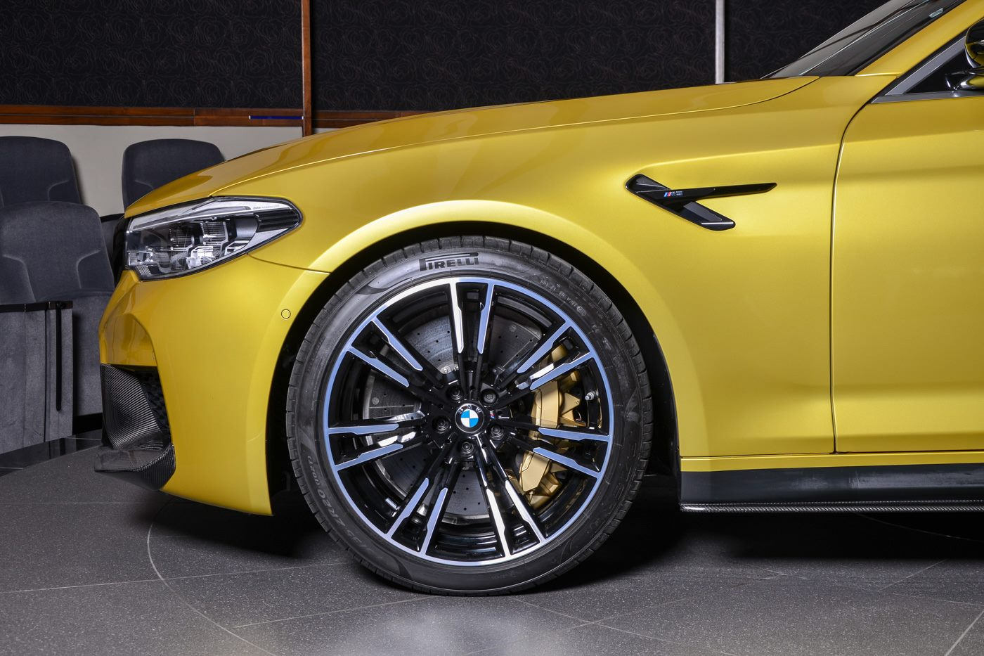 BMW M5 Competition Austin Yellow (4)