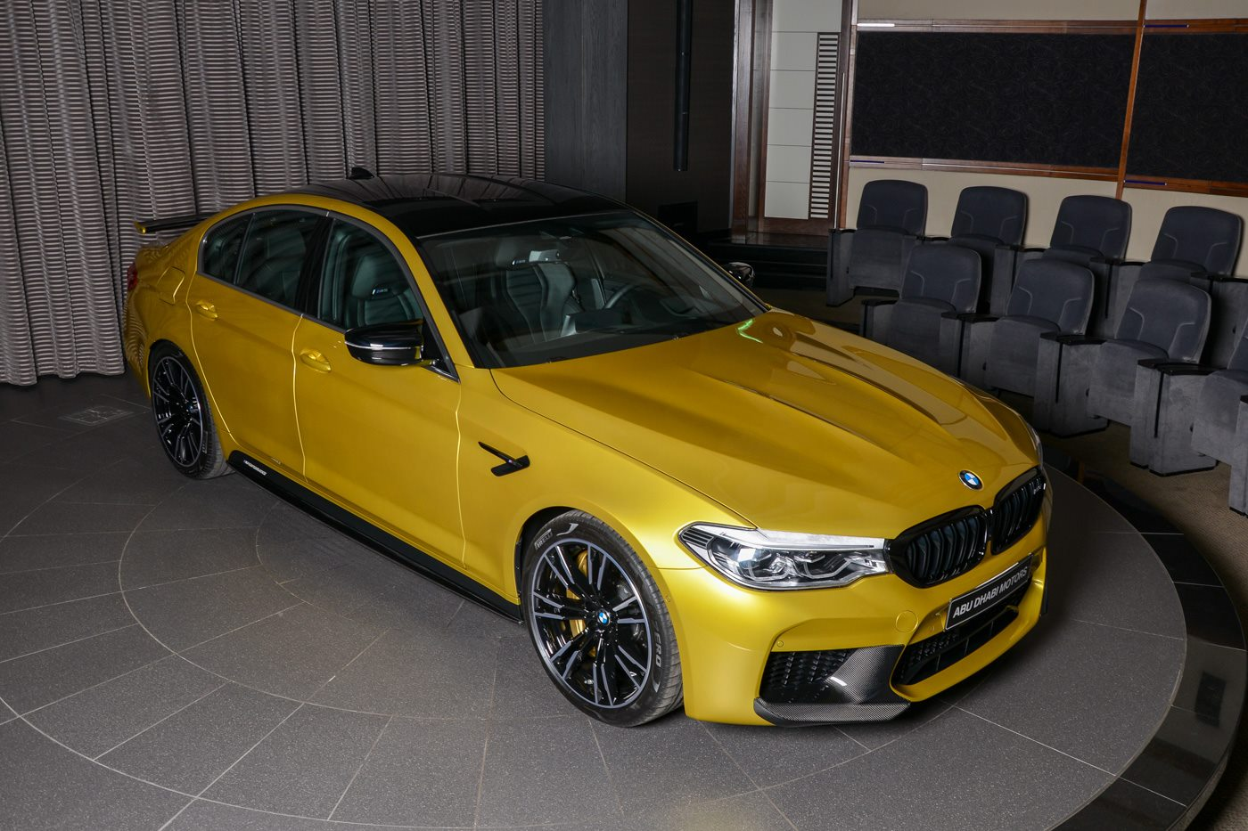 BMW M5 Competition Austin Yellow (5)