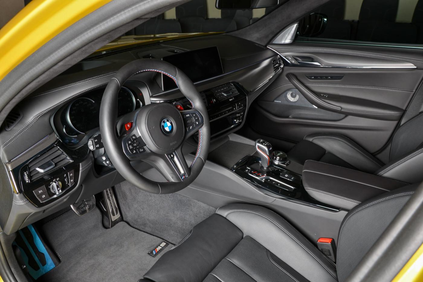 BMW M5 Competition Austin Yellow (6)
