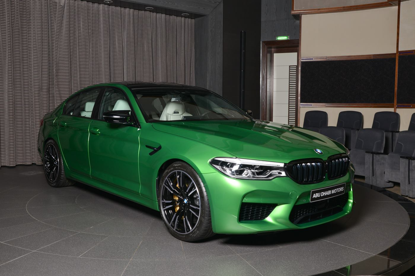 BMW M5 Competition In Rally Green (1)