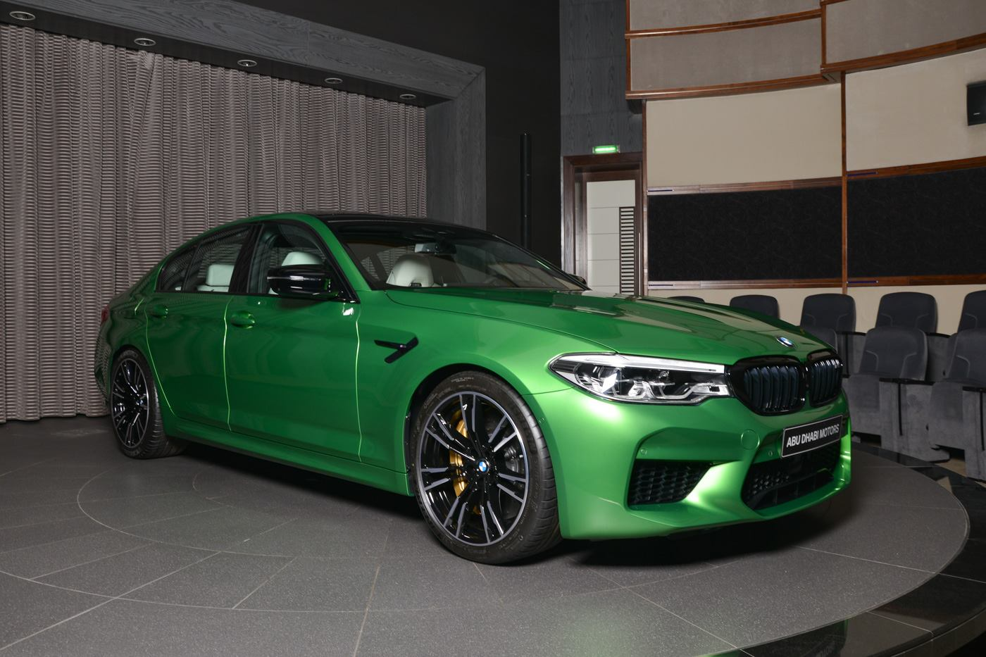 BMW M5 Competition In Rally Green (10)