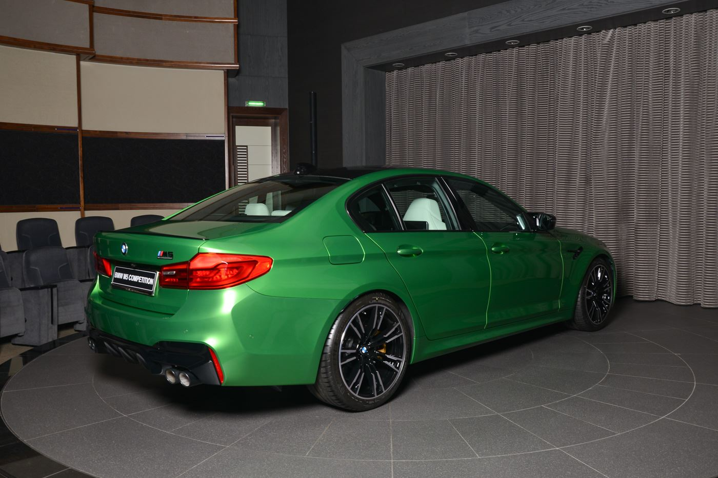 BMW M5 Competition In Rally Green (12)