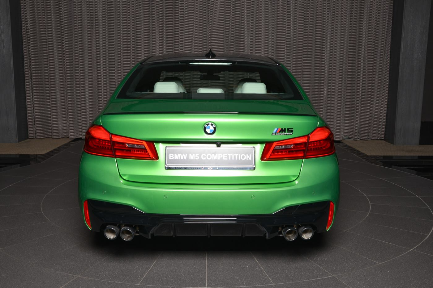 BMW M5 Competition In Rally Green (14)